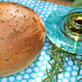The Café's Olive Oil & Rosemary Boule