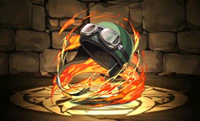 忍のゴーグル付きヘルメット