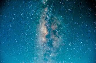 Photo: Stars from the summit of Haleakala.