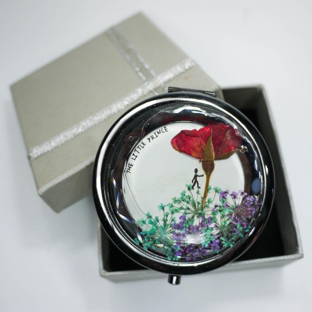 [現貨/stock] Pressed Flower Mirror
