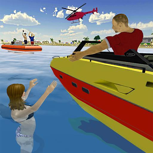 Beach Rescue Lifeguard Duty