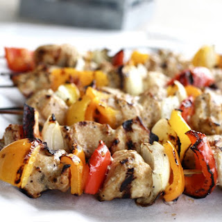 Lemon Pepper Chicken Kabobs with Soda Pop Marinade