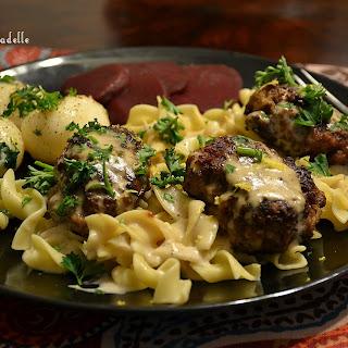 "Danish Frikadelle ""Meatballs"" with Gravy."