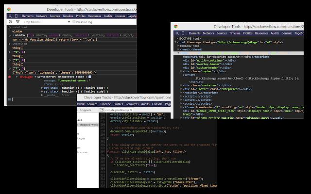 IR_Black & Base16 DevTools Theme
