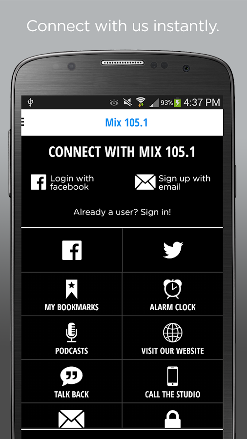 Mix 105.1 Madison- screenshot