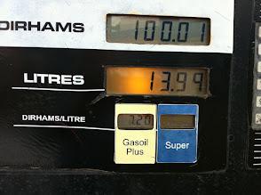 Photo: Tarif GO 0,70€ le litre