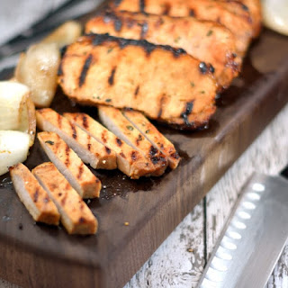 Grilled Onion Pork Chops