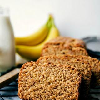 Healthier Greek Yogurt Banana Bread.