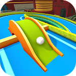 Mini Golf 3D City Stars Arcade Icon