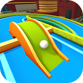 Mini Golf 3D City Stars Arcade - Multiplayer Game Icon