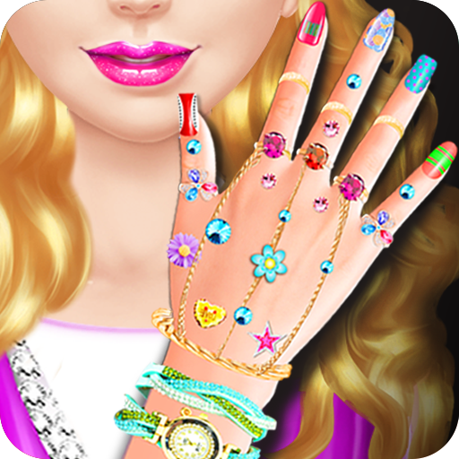 Nail Salon Girl Games (game)