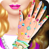 Nail Salon Girl Games