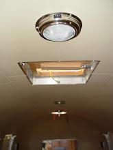 Photo: center ceiling lights