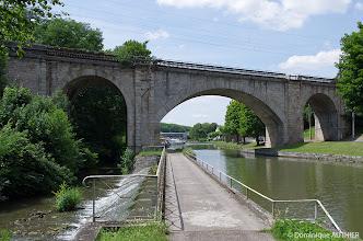 Photo: Pont chemin de fer à Briare