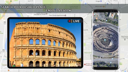 Live Earth Map 2020 -Satellite & Street View Map 2.1 screenshots 3