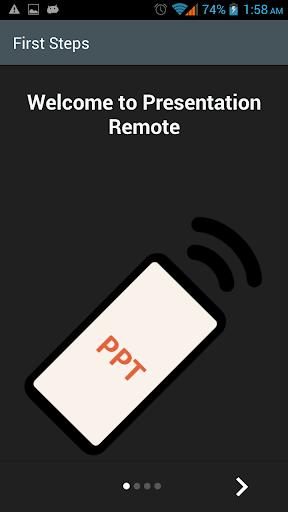 WiFi Presentation Remote 11.0 screenshots 2