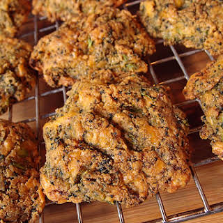 Keto Broccoli Cheddar Biscuits.