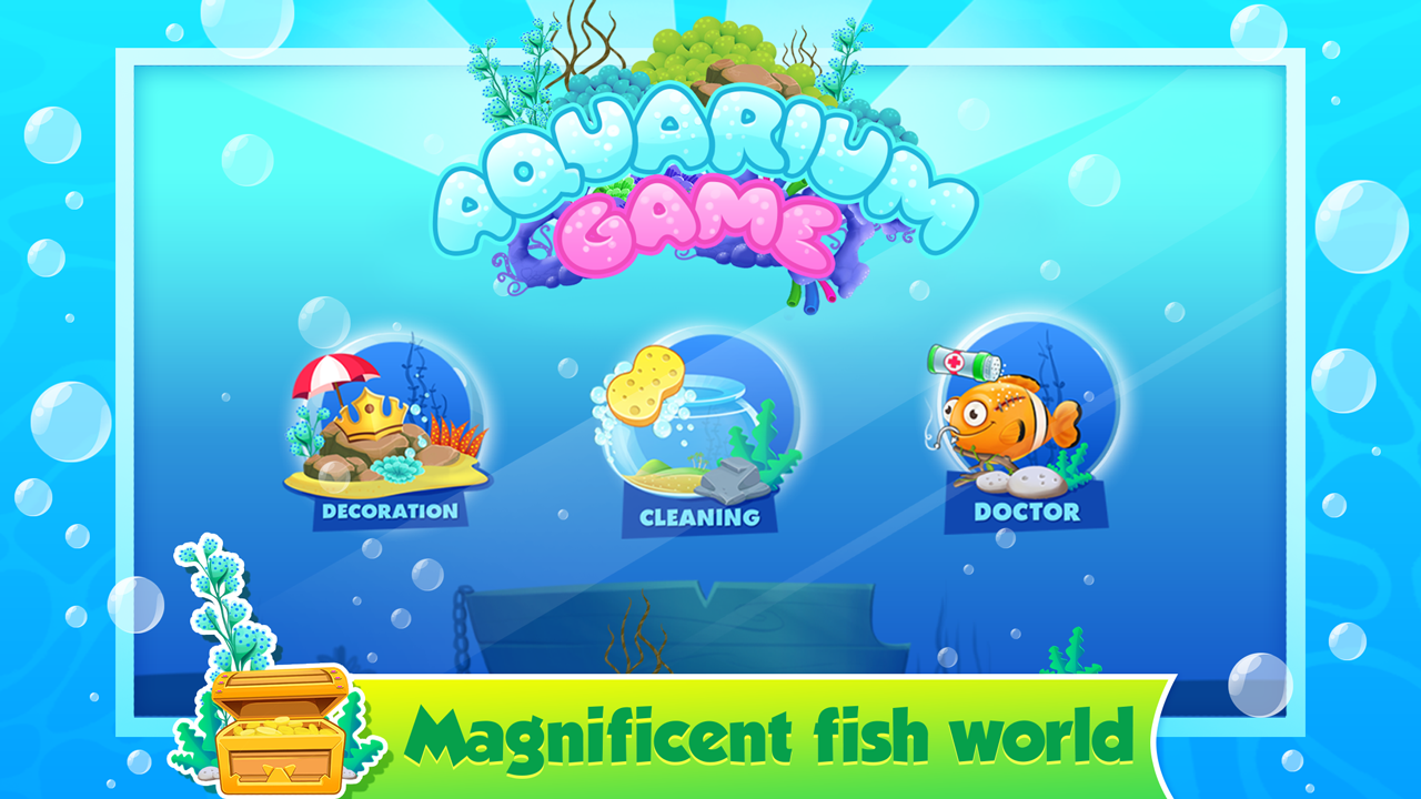 My fish tank aquarium games android apps on google play for Fish tank game