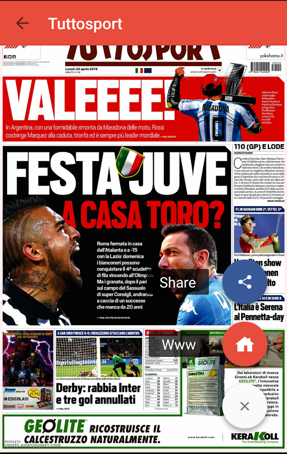 Sports Newspapers- screenshot