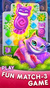 WonderMatch™-Match-3 Puzzle Alice's Adventure 2020 1.22.1 (Mod)