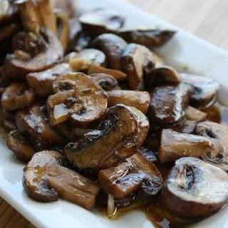 Texas Favorite Steak Mushrooms