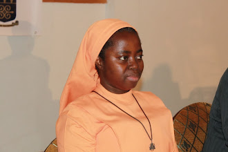 Photo: Looking on - Sr. Dr. Eugenia Amporfu, Economics Head of Department (KNUST)