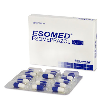 Esomed 20Mg Cápsulas   Caja x28Cap. Novamed Esomeprazol