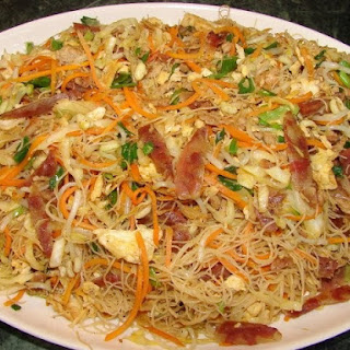 Stir Fried Rice Vermicelli.