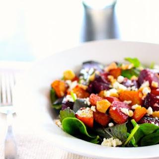 Roasted Balsamic Beet Salad