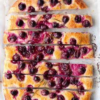 Concord Grape & Rosemary Focaccia