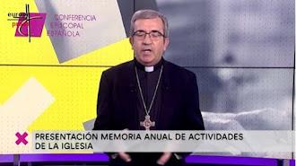 El secretario general y portavoz de la Conferencia Episcopal Española (CEE), Luis Argüello.
