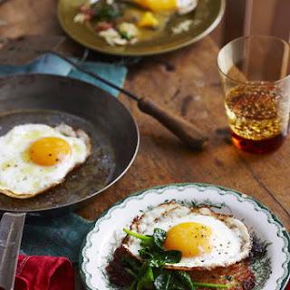 Potato Rösti with Fried Eggs
