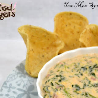 Slow Cooker Tex Mex Spinach Dip.