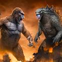 Dinosaur Rampage Attack Games icon