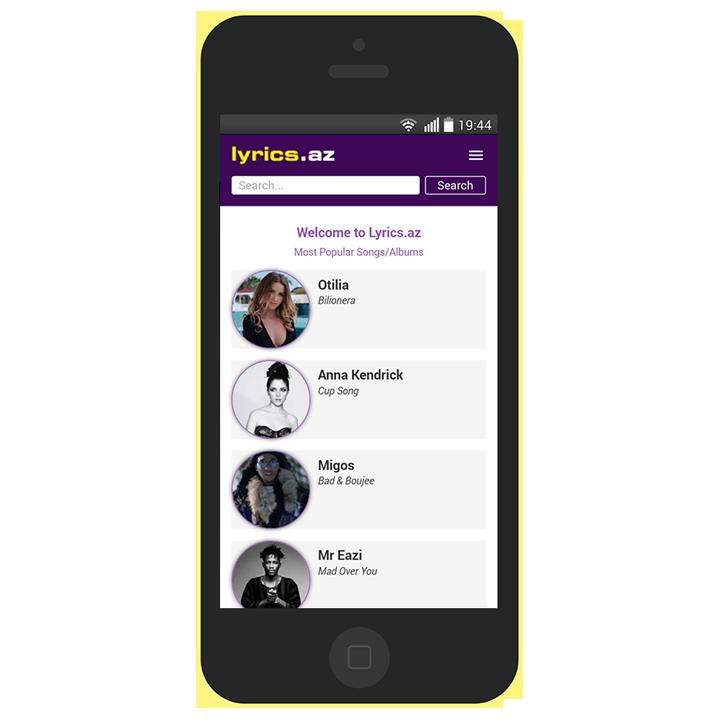 Lyric google lyrics search engine : Lyrics.az - A to Z Lyrics - Android Apps on Google Play