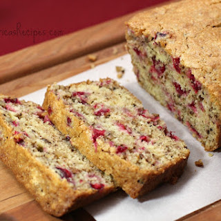 Grammy Peggy's Cranberry Bread.