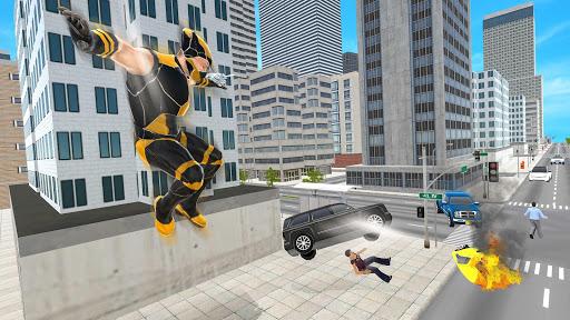 Code Triche Superhero Street Crime Infinity War APK MOD screenshots 4