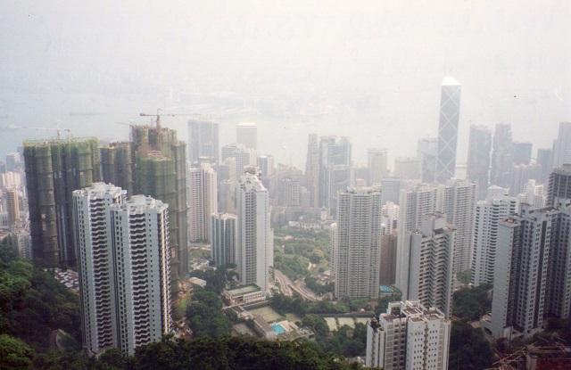 Panorama su Hong Kong di eli2007