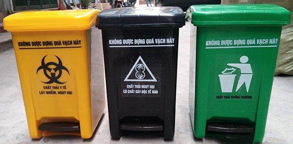 Nơi nào cung cấp thùng rác y tế TP.HCM