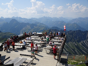 Photo: Nebelhornterrasse