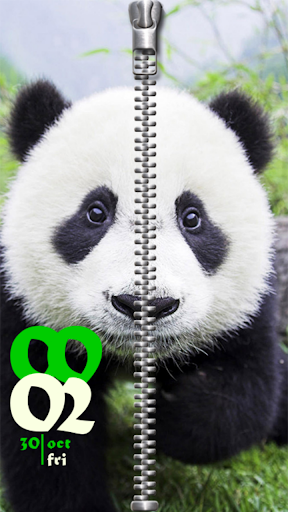Panda Screen Lock