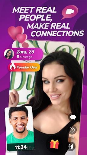 Cafe - Live video dating 1.5.3 screenshots 2