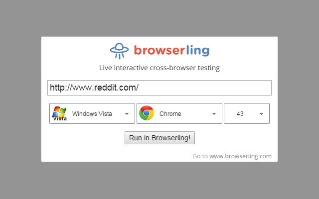 Browserling - Cross-browser testing