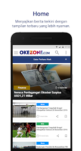 Okezone (Official)- screenshot thumbnail