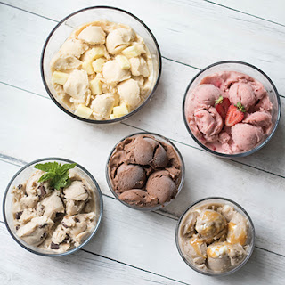 Banana Ice Cream 5 Ways