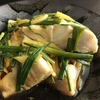Chinese Poached Black Cod.