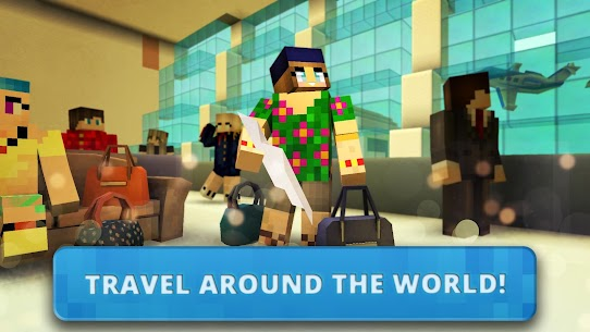 Airport Craft: Fly Simulator Boys Craft Building App Download For Android 6