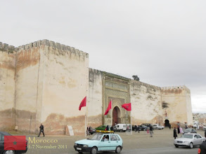 Photo: the imperial city of Meknes