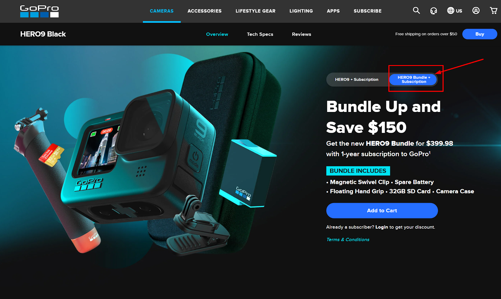 GoPro product bundles