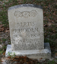 Photo: Bertis Rhoden son of Nathan Rhoden and Mandany Thompson